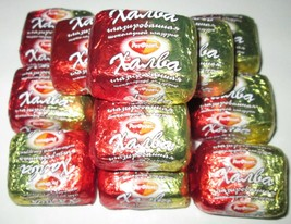"Candy ""Halva in chocolate glaze"" 1lb -- 4lb RotFront Russia - $11.80+"