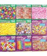 "150 Pc Jigsaw Puzzles 12""x12"" 1/Pk s20e, Select: Flamingos Balloons Cats... - $2.99"