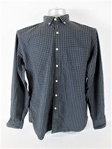 J CREW MENS  Large  LONG SLEEVE GRAY PLAID POCKET BUTTON DOWN SHIRT (T)P - $12.33