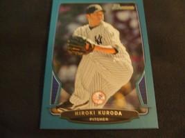2013 Bowman Blue #203 Hiroki Kuroda #'d 472/500 -New York Yankees- - $3.12