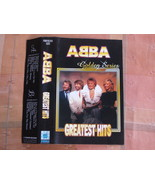 RARE ABBA GOLDEN SERIES GREATEST HITS Unofficial Cassette Russia - $11.27