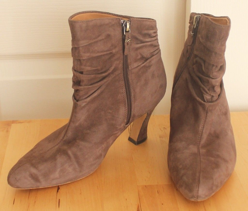 3c379b78453 Earthies Montebello Dark Taupe Brown Ruched and 50 similar items