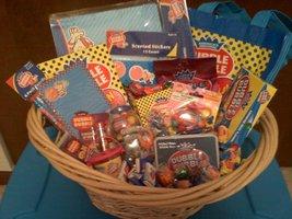 Dubble Bubble Gum Gift Basket  - $50.00
