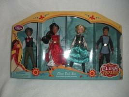 "Disney Elena Of Avalor 4 Piece Mini Doll Playset Poseable 5 1/2"" New Sealed - $22.00"