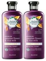 (2) Herbal Essences bio:renew Passion Flower & Rice Milk Nourishing Conditioner - $19.79