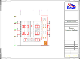 Custom Modern House Plans 4 Bedroom And 5 Bathroom With Original CAD And... - $19.79