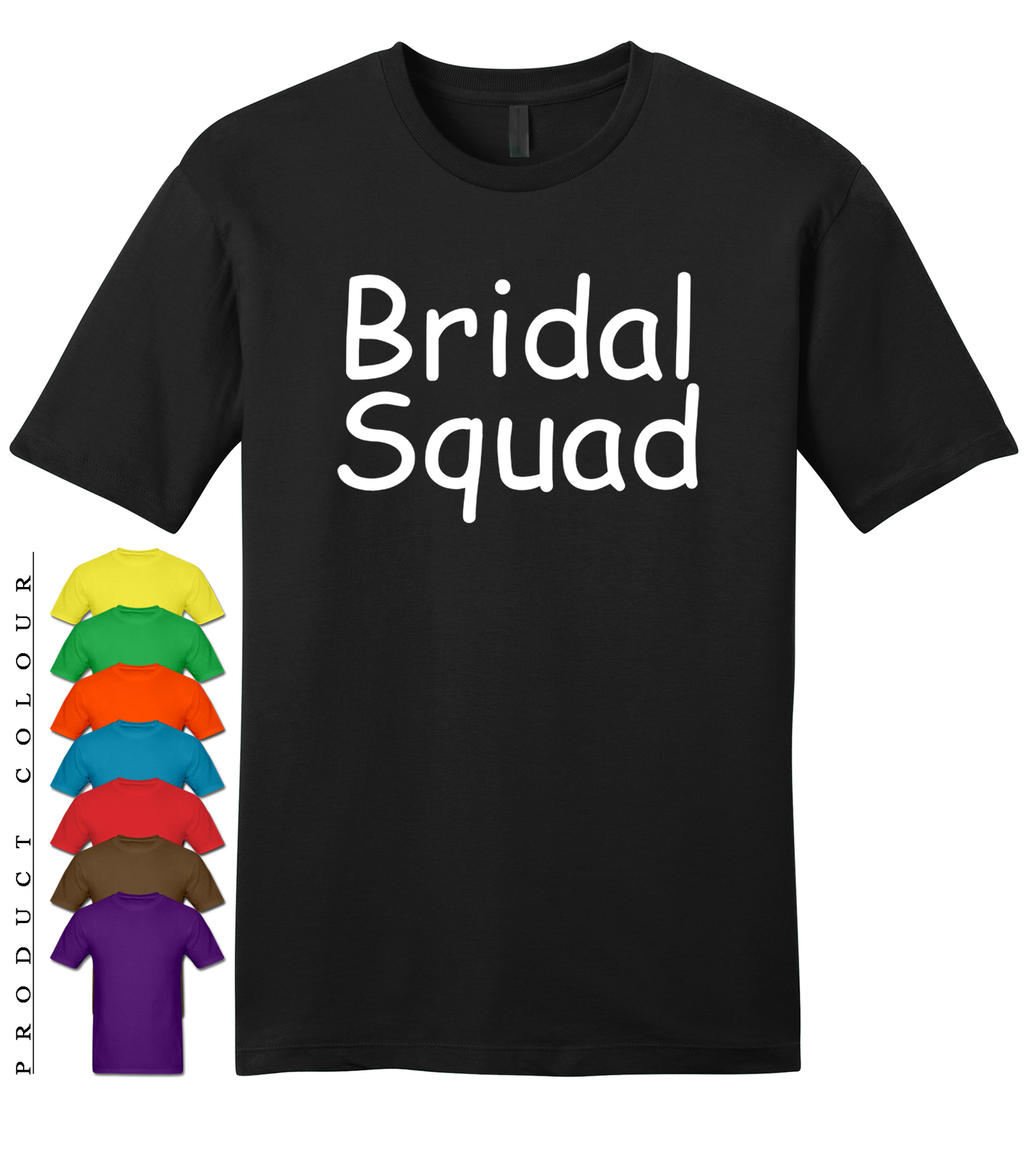 Primary image for Bridal Squad Mens Gildan T-Shirt New