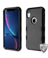 For Apple iPhone XR Hybrid Rugged Shockproof Protective Phone Case Cover... - $8.21