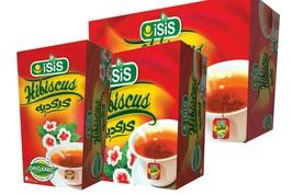 20,50,100 Bags 100% Natural EGYPTIAN HIBISCUS Herbal Tea Healthy Drinks كركديه - $15.96+