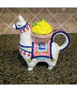 Lemon Llama Teapot Unique Collectible Decorative Kitchen home Art Decor ... - $56.99