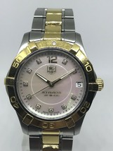 "TAG Heuer Women's WAF1320.BB0820 ""Aquaracer"" Steel 18k Gold Watch. Make ... - $2,300.00"