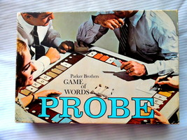Vintage Probe Board Game By Parker Brothers 1964 Incomplete - $15.63