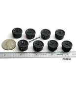 "100 Snap-in Expandable Locking Plastic Grommets Fits 5/8"" Opening - Blac... - $38.24"