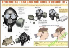 Russian Army Military  Gas Mask Gp-7VM 2014 year image 4