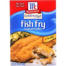 Golden Dipt Breading - Fish Fry - Case of 8 - 10 oz - $39.32