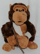 Mills Brand Brown Animated Monkey With Crutch Singing Love Hurts image 1
