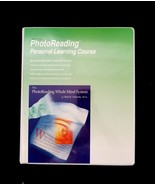Photo Reading Personal Learning Course Learning Strategies Memory Concen... - $36.45