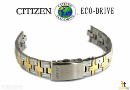 Citizen Eco-Drive EU2434-59A Stainless Steel (Two-Tone) Watch Band EU2434-59D - $70.61