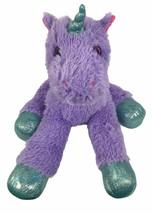"""MTY International Purple Sparkles Unicorn 23"""" Plush Large Pink Eyes - $14.85"""