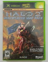 Halo 2 Multiplayer Map Pack Original Xbox Game 2005 Microsoft  - $6.73 CAD