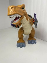 Fisher Price Imaginext Mega T-Rex Interactive Dinosaur Motorized With So... - $13.45