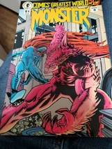 Dark Horse Comics Comics Greatest World Monster # Week 4 July 1993 - $1.98