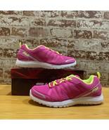Fila Girls Flyver Pink Running Shoes Sneakers 7 Medium (B,M) Big Kid BHF... - $31.46