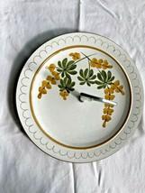 Stangl Pottery Golden Blossom Vintage Tidbit Plate 1964 USA - $15.99