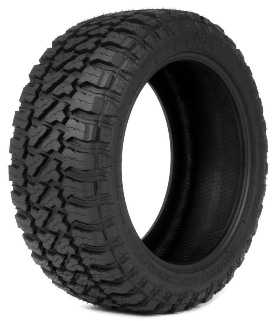 35X15.50R22LT FURY OFF-ROAD COUNTRY HUNTER M/T 125Q 12PLY 80PSI (SET OF 4)