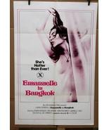 "Original Emanuelle in Bangkok 1976 movie poster Laura Gemser rated X 27""... - $58.84"