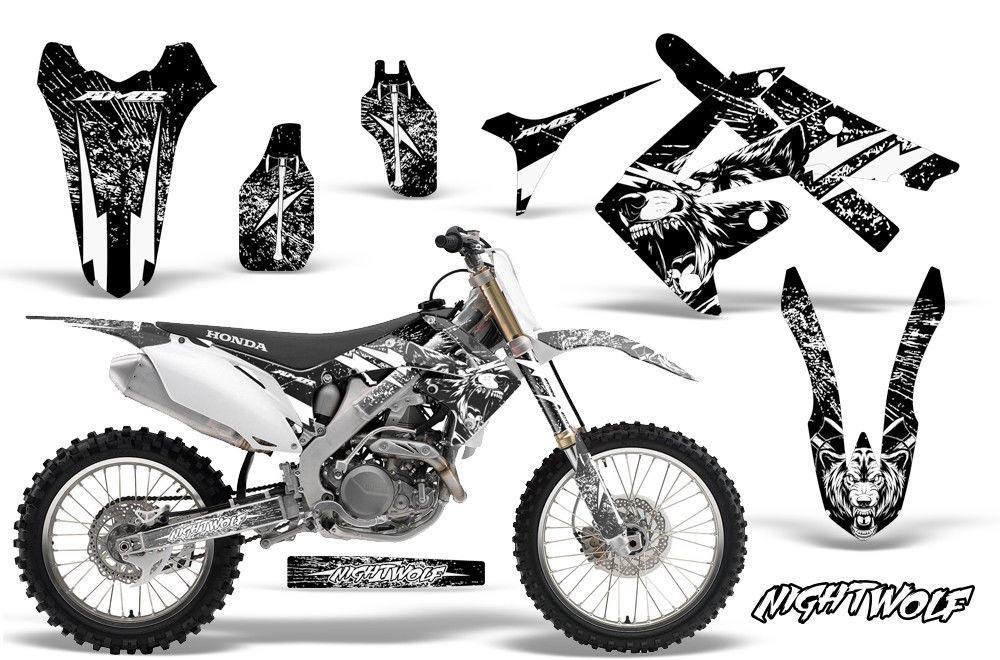 honda crf250r dirt bike graphic sticker kit mx decal wrap