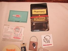 Rx, Pharmacy Promotional Items, Mixed Lot , Advertisment Promos image 3