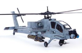 Academy 12129 AH-64A ANG South Carolina Plastic Attack Helicopter Hobby Model image 5