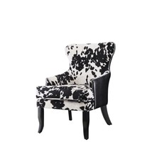 Accent Chair Traditional Microfiber Padded Upholstery Seat Living Room F... - €314,58 EUR
