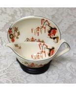 Vintage, Rare, Wedgwood, England,Variant,Gaudy Blue Willow 2pc Gravy-Sau... - $75.95