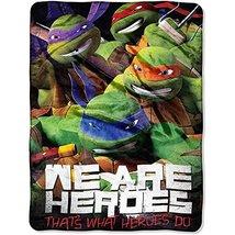 Teenage Mutant Ninja Turtles TMNT Micro Raschel Throw Blanket Bedding - €28,09 EUR