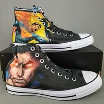 Converse CTAS x Superman Vol 1 DC Comics Shoes Size 8 Mens Hi Chucks Bla... - $56.09