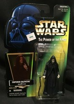 Star Wars Potf Emperor Palpatine Kenner Green Card 1996 Mint! - $5.00