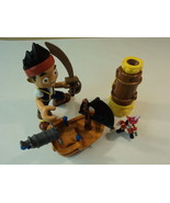 Mattel Disney Hooks Battle Boat Spyglass Set of 3 Jake and The Neverland... - $25.29
