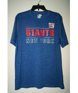New York Giants NFL Team Apparel TX3 Cool Mens T-Shirt Size M Medium - $23.75