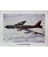 """12"""" X 16"""" Unframed Print of a Boeing B-52 Stratofortress over the Sands ... - $10.84"""