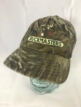 Vintage BUCKMASTERS Mesh Camouflage Trucker Hat Cap Snapback REALTREE Ca... - $14.99