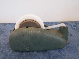 Vintage Antique Metal Heavy Retro Scotch Whale Tail Tape Dispenser - $48.56