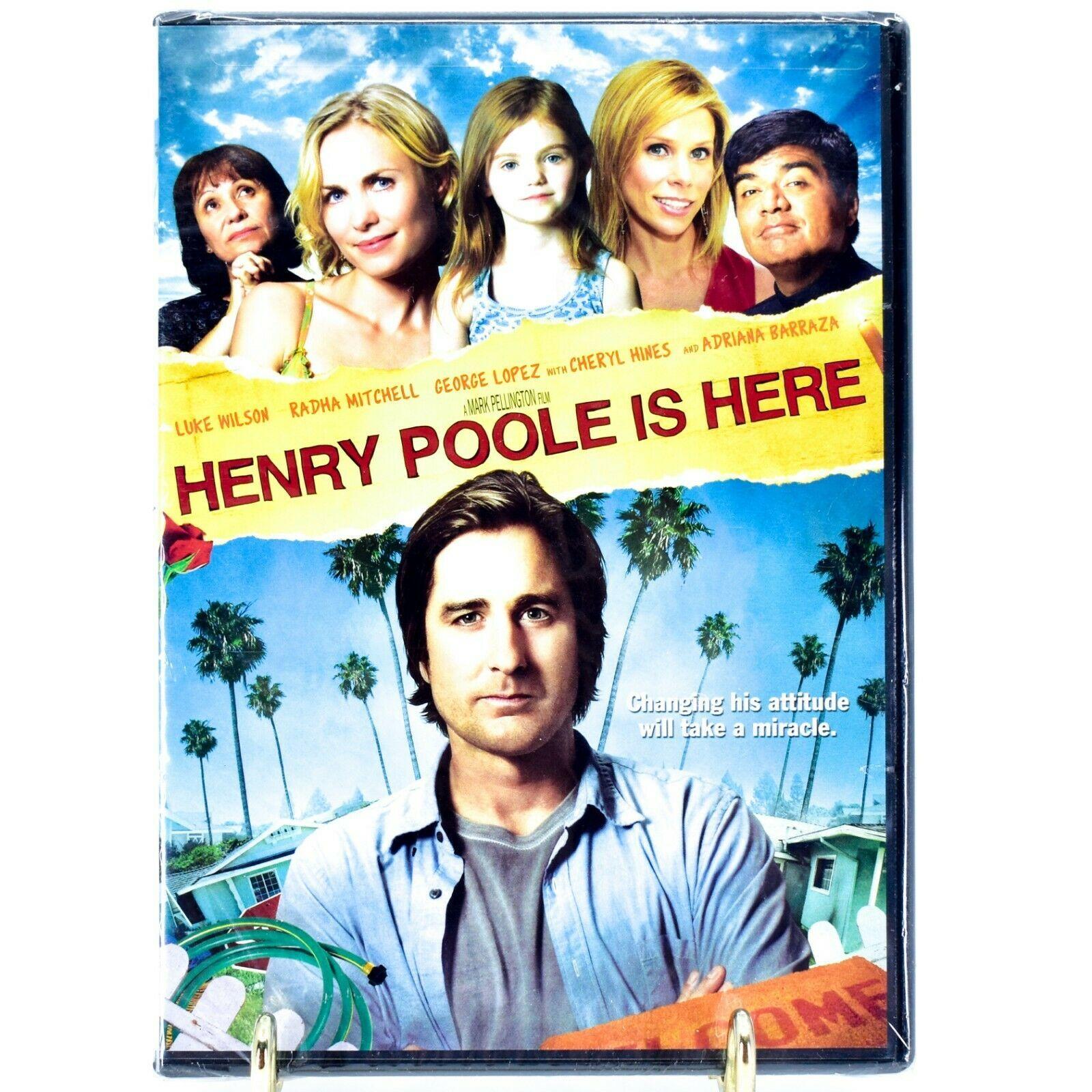Henry Poole is Here DVD Video NEW SEALED Luke Wilson George Lopez