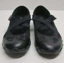 SKECHERS FRISKY BIKERS 21321 WOMEN'S (8.5) BLACK SLIP-ON SNEAKER BUNGEE ... - $31.50