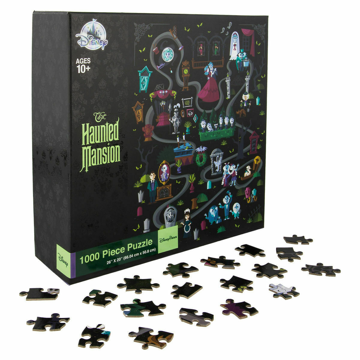 Disney Parks The Haunted Mansion Jigsaw Puzzle 1000 Pieces New with Box