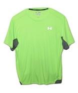 Under Armour Mens Heat Gear Flyweight Running Shirt Regular Fit X-Large Np - $16.96