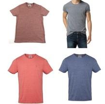Tommy Hilfiger Denim Men's Tee Shirt Basic Knit Crew Neck Short Sleeve Licensed