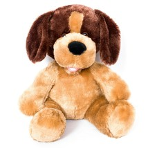 "Build a Bear VTG Puppy Dog Plush 10"" Brown Tongue Stuffed Animal BABW - $19.66"