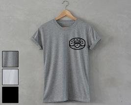 DONUT Shirt pocket print unisex T-Shirt hipster fashion dope swag cool tee - $14.99